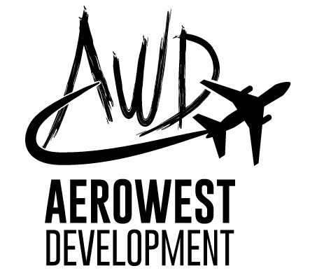 Logo Aero West Development Noir-01