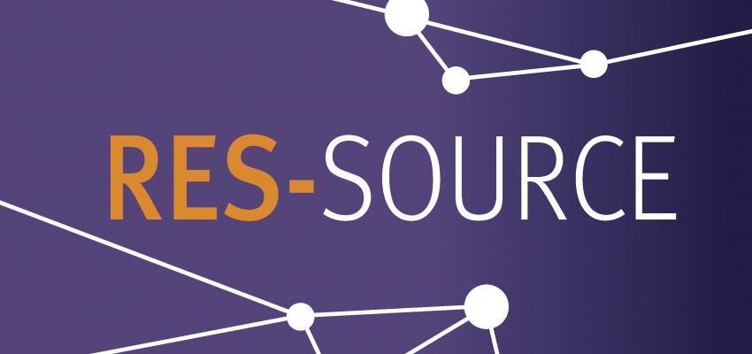 RES-SOURCE Logo VIOLET